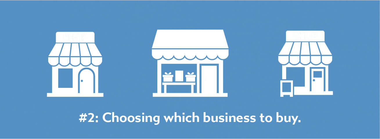 Choosing which business to buy