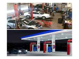 Turnkey Automotive Repair And Mobil Gas Station