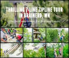 Brainerd Zip Line Tours For Sale