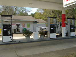 Shutdown Gas Station For Lease for $10,000 in AL