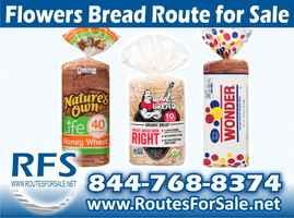 Flowers Bread Route, Rocklin, CA