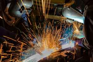 Custom Metal Fabrication Company with Real Estate