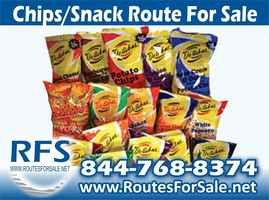 Salted Snacks Route For Sale, Houston, TX