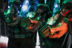 Amazing 4-Story Laser Tag Arena with Real Estate