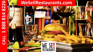 Restaurant with Bar for Sale! $1.3mil in Sales!