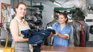 Long Standing Dry cleaners-2 Locations w/ drop off
